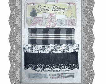 Stylish RIBBONS Collection - BLACK TIE AFFAIR   (SRC 115)