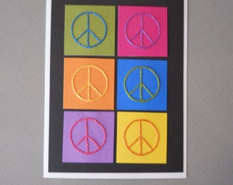 Peace Note Card / five pack