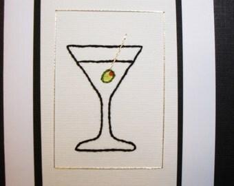 martini card/5 pack