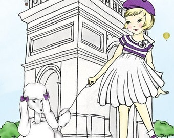 Bella and Lulu in Paris