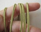Soutache 12 yards (11 meters) SOUTACHE passementerie braid. SAGE GREEN. 1/8 inch (3mm) wide. 556-582