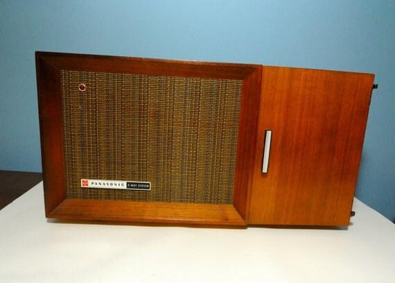 Danish Modern Panasonic Radio