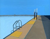 Red Hook Pool Series (five) - limited edition giclee print 35/100
