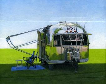 Airstream Shade - 11 x 14 archival print 89/100