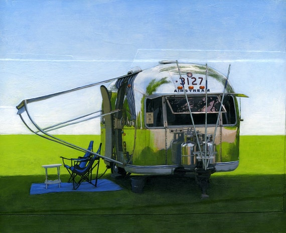 Airstream Shade - 11 x 14 archival print 89/100