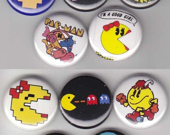 10 Pacman Buttons