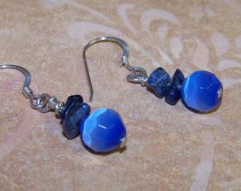Blue Chip Earrings