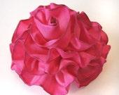 Ribbon flower pin