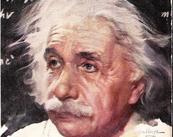 1948 Albert Einsteins The University and Dr. Einstein by Lincoln Barnett, Science, Einsteins Theory of Special Relativity, Astronauts 32c