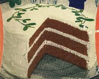 1934 Cake Cookbook, Swans Down Cake Flour, The Latest Cake Secrets, Butter, Chocolate, Vanilla, Devils Food, Cakes, Blueberry Tea Cakes