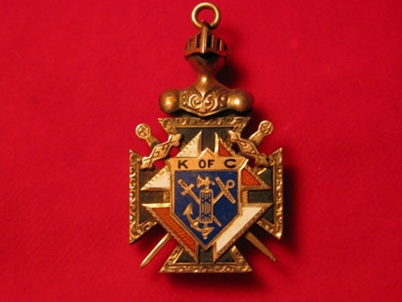 items similar to knights of columbus jewelry pendant