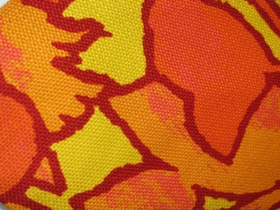 Tie Funky Mens Tie, Retro Funk A Delic Orange Mens Tie, John Travolta Disco Tie 93c