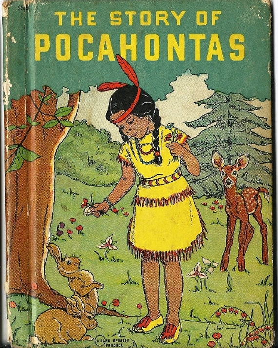 Vintage Book Cover Shirts : Items similar to vintage pocahontas book cover only