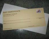 Gift Certificate - Real Leaf Jewelry