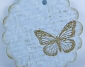 Stamped Vintage Tags
