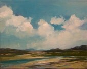 DRY SEASON, oil painting, 100% charity donation, original painting, 8x10 stretched canvas