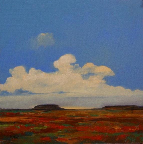 MESA, Original Oil Painting