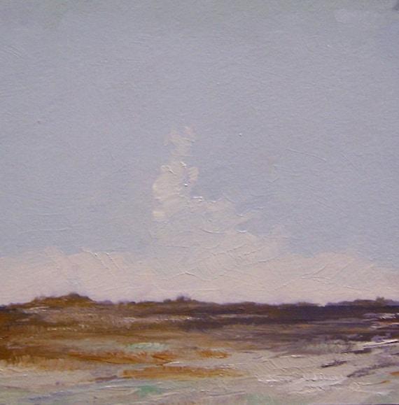 PLEASANT, landscape oil painting, 100% charity donation,  original oil painting, landscape, 5x5, art board