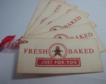 Handmade Gift Tags for Baked Goods