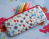 Liberty of London pencil case or make up pouch