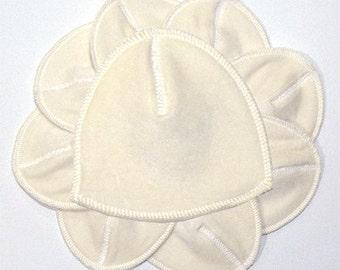Organic Contoured Nursing Pads