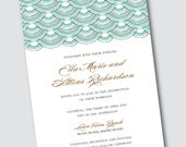 Wedding Invitation Ella - Sample Available