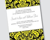 Wedding Invitation Sarah - Sample Available