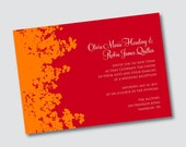 Wedding Invitation Olivia - Sample Available