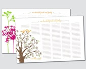 Wedding Guestbook Poster - Choose your design - Digital or Printed