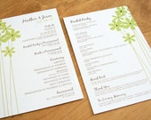 Custom Wedding Programs - Choose Design and Colors