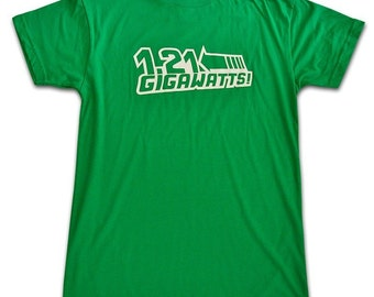 Back to the Future movie film cinema T-Shirt XXL
