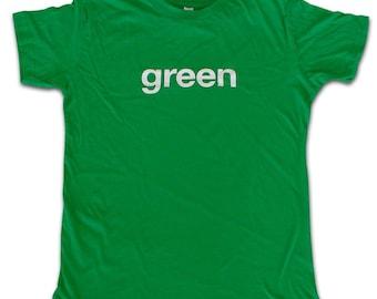 GREEN T-shirt XL