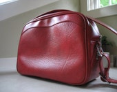Reserved - Red Escort American Luggage Overnight Bag