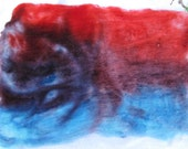 Wounded Patriot Pure Targhee Hand Made Wool Batt Spinning