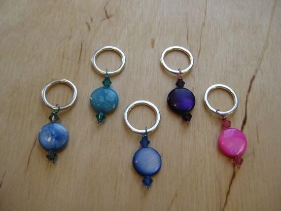 Woolpops Tropique Set of 5 Stitch Markers