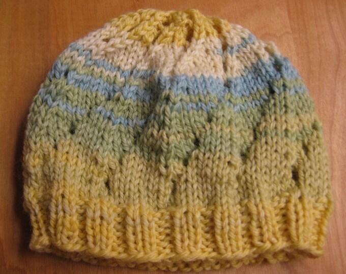 Insouciant Studios Hand Knit Garden Baby Hat