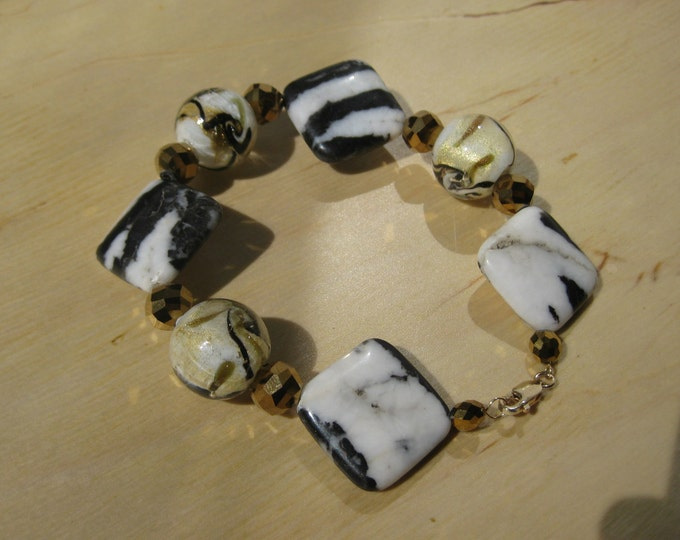 Insouciant Studios Zebra Bracelet