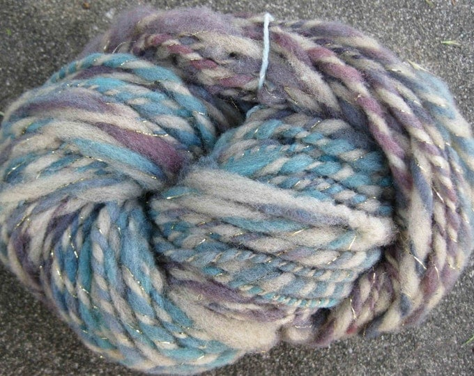 Woolpops Blueberry Pie 2 ply bulky yarn 107 yards