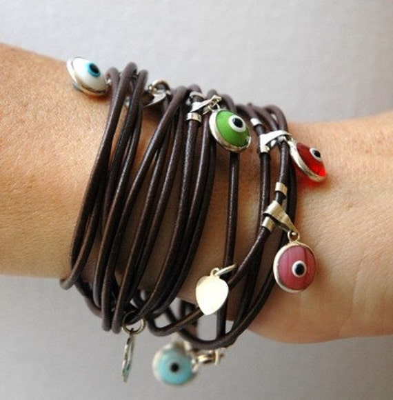Leather Bracelets Where The Eye Looks