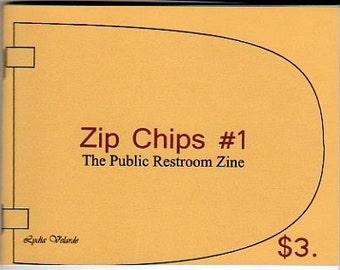 Zip Chips Number 1 - The Public Restroom Zine