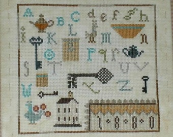 Our Pleasures - cross stitch pattern from Notforgotten Farm