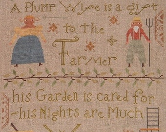 NEW Spring 2011 Cross Stitch Pattern -A Plump Wife-