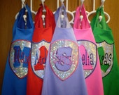 Personalized with your Hero's Name Super Hero Cape and mask - great colors