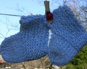 Hand Crochet Baby Booties