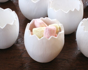 Easter Egg Shell Container, Holder or Cup