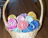 Baker's Dozen Crocheted Eggs