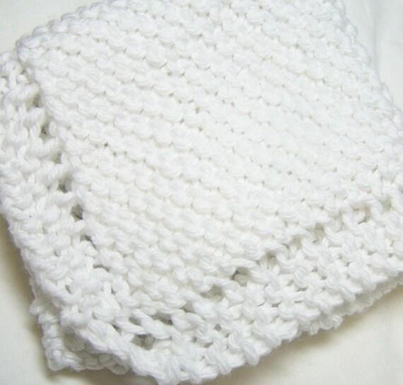 Dish Cloth - White