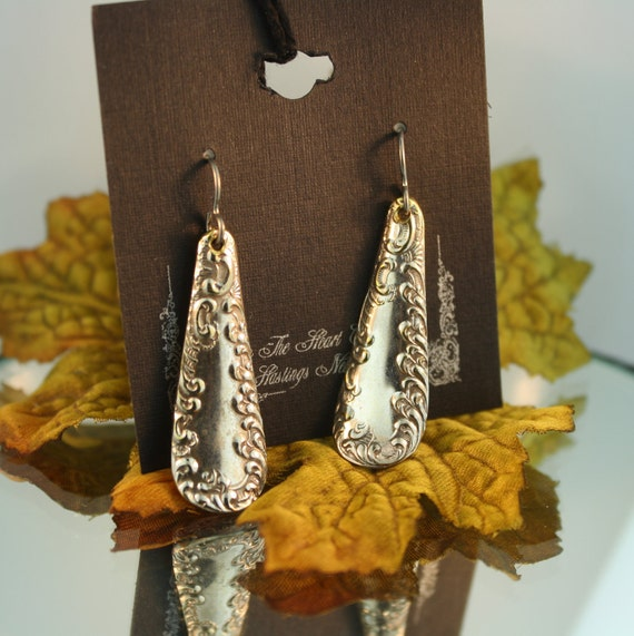 Silverware Earrings (Raymond)