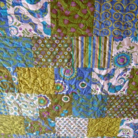 Pretty Bird queen size quilt