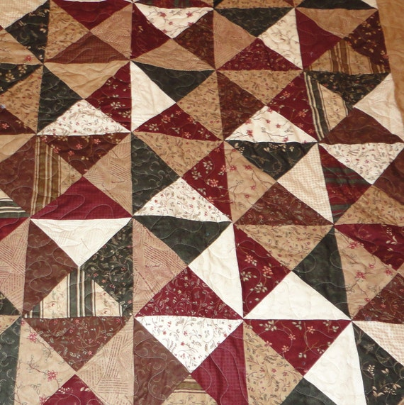 Northern cardinal Twin size quilt